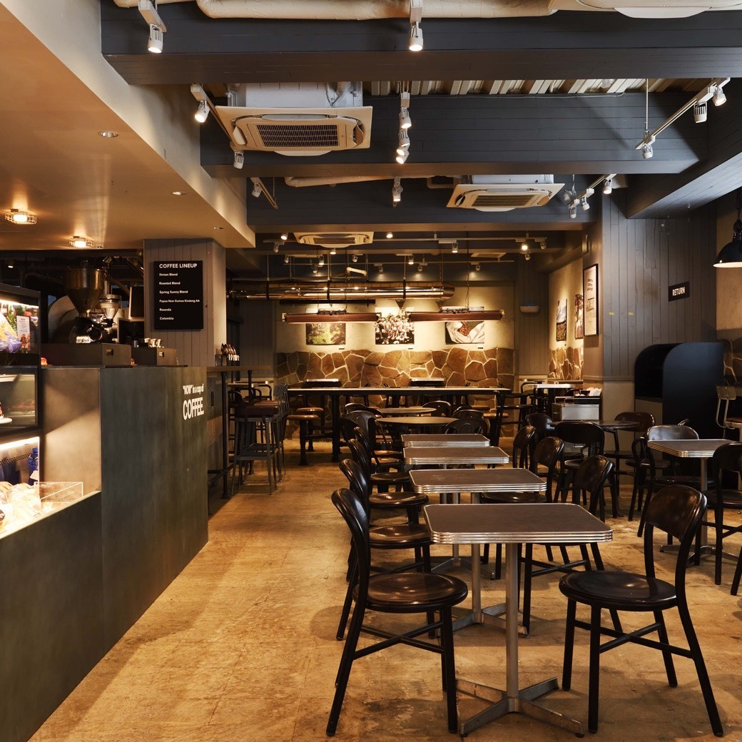 Roasted COFFEE LABORATORY 渋谷神南店 / Counter seat