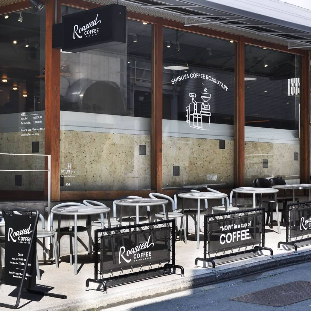Roasted COFFEE LABORATORY 渋谷神南店/Counter seat